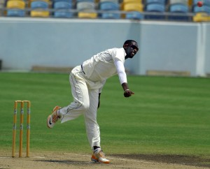 Off-spinner Shane Shillingford tormented Barbados today.