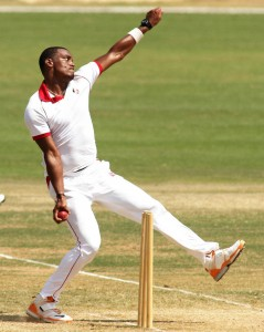 Shannon Gabriel could return to Test cricket tomorrow.