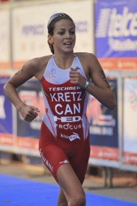 Amelie Kretz brings considerable star quality to the women's event.