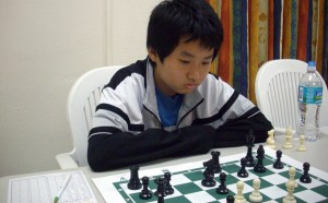 Yu Tien Poon took the Under-16 chess title.