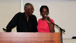 Rawle Brancker and Dr. Velma Scantlebury-White