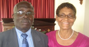 Reverend Ronald Trotman and his wife Cynthia