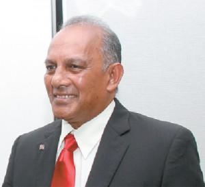 Outgoing CAL chairman Rabindra Moonan.