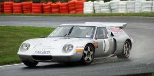 Stuart Deeley in his Lotus 62.