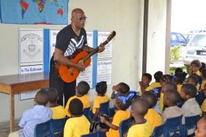 Music teacher Johnny Koieman.