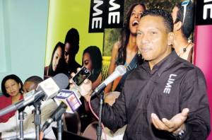 FLASHBACK: LIME Chairman Chris Dehring speaks at the launch of LIME TV in 2010.