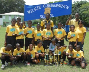 2013 champions - Wilkie Cumberbatch Primary