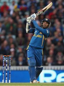 Kumar Sangakkara played brilliantly to lead Sri Lanka to victory.