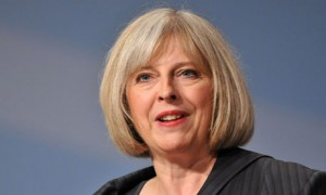 """Home Secretary Theresa May defended the """"selective"""" approach to migration"""