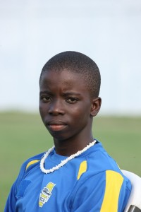 Barbados' Under- 17 batsman Leniko Boucher made a polished half-century for Combermere.