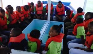 summerfunportcampglassbottomboat