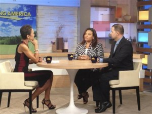 Juror B29 during her interview with Robin Roberts.