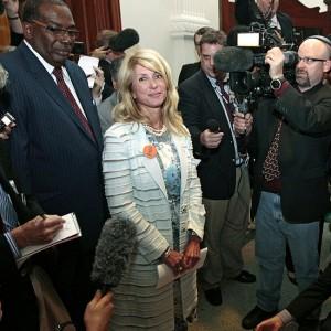 Democratic Senator Wendy Davis