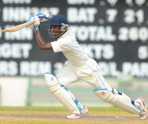 Carlos Maynard top-scored with 30 in Barbados' second innings against Jamaica.(FP).