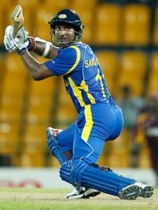 Sri Lankan star Kumar Sangakkara should be in action this Thursday night.