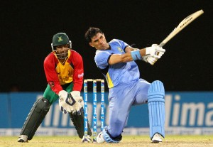 Misbah ul-Haq continues to shine in the Caribbean.