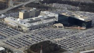 The NSA headquarters.