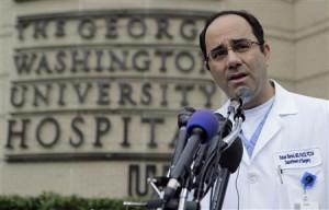 Babak Sarani, head of trauma surgery at George Washington University Hospital, speaks about the victims of the Washington Navy Yard shooting who were brought to the hospital.