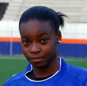 Aaliyah Alleyne scored six goals yesterday.