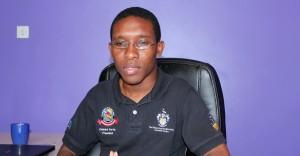 Students' Guild President Damani Parris