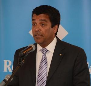 Managing director and chief executive officer of Republic Bank (Barbados) Ian De Souza
