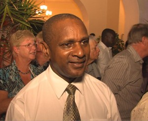 Hotelier Alvin Jemmott was among those present.