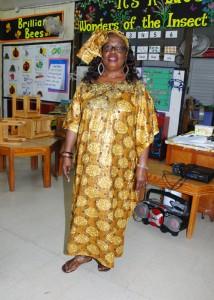 Principal Rosina Rowe.