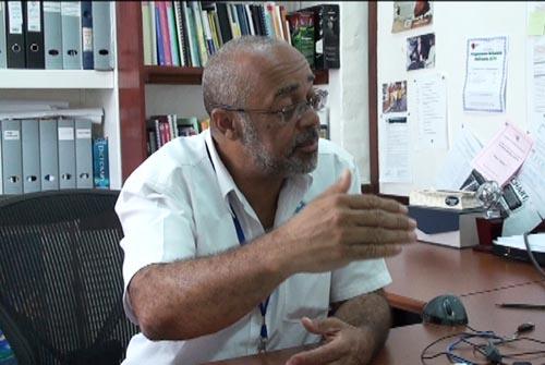 Outgoing CXC registrar Dr Didacus Jules.