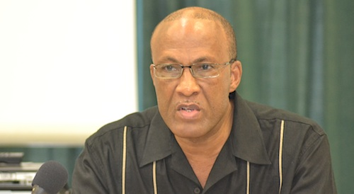 Oral Reid, chairman of the Barbados chapter of the Caribbean Association of Security Professionals.