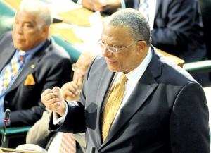 Minister of Finance Peter Phillips