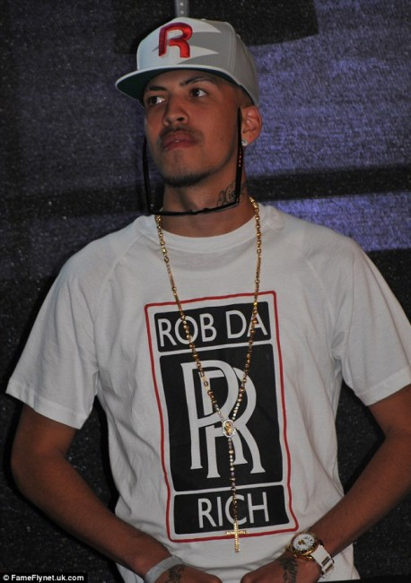 British  rapper producer Edwin EcKSell Newton.