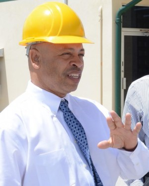General manager of McBride Caribbean Limited Ricardo Strickland.