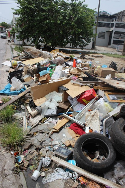 Indiscriminate and illegal dumping in The City.