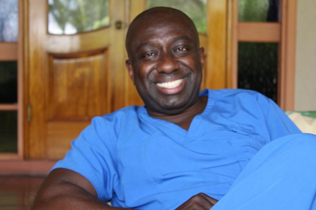 Dr Christopher Ayo Oniko – foot and ankle surgeon.