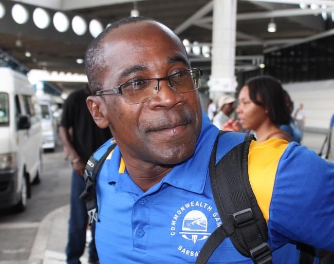 Track and field coach Alwyn Babb