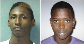 Rashayne Blenman (left) and Romario Clarke (right) have been charged with killing another youth, Mark Walton.