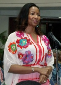 Businesswoman Donna  St Hill urged Barbadians not to discriminate against the Nigerian students.