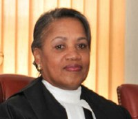 Justice Janice Pereira says lack of funding is having an adverse impact on the Supreme Court.