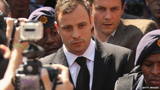 Oscar Pistorius faces up to 15 years in jail for culpable homicide.