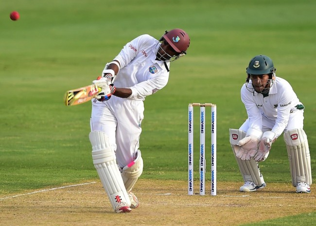 Shivnarine Chanderpaul will be looking for his 30th Test century tomorrow.