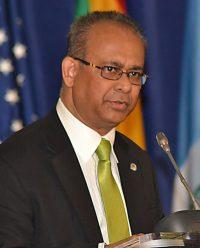 OAS Ambassador Albert Ramdin