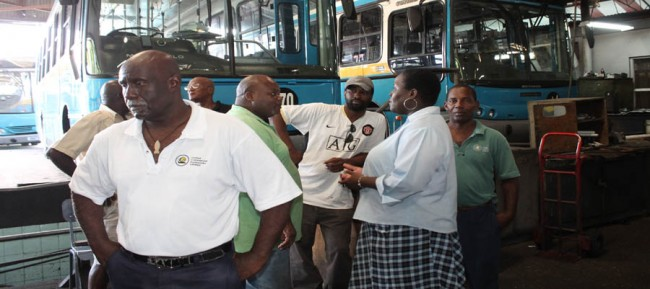 Last month, workers at UCAL took to industrial action until they were satisfied that the Transport Board would pay what is owed to them.