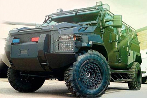 Citizens urged not to see armoured vehicles as a threat.