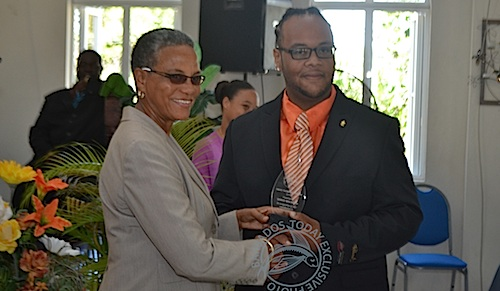 Multiple awardee Dario Walrond, entertainer, was among those honored.