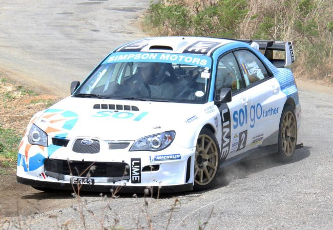 Roger Skeete is among the local drivers seeking to represent Barbados at the Race of Champions.