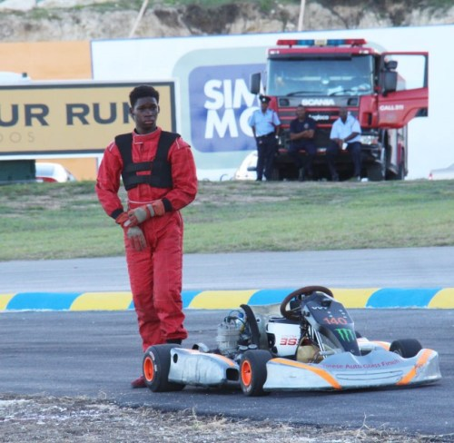 Tremaine Forde-Catwell won his four kart races.
