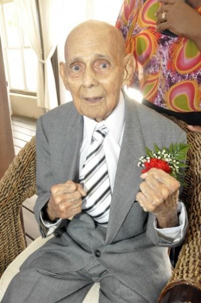 When he turned 100 in July, Cyril Carrega said he felt like 60.