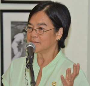 UNICEF representative for the Eastern Caribbean Khin-Sandi Lwin