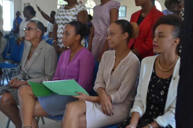 Mara Thompson and her daughters Misha, Oya and Osa.