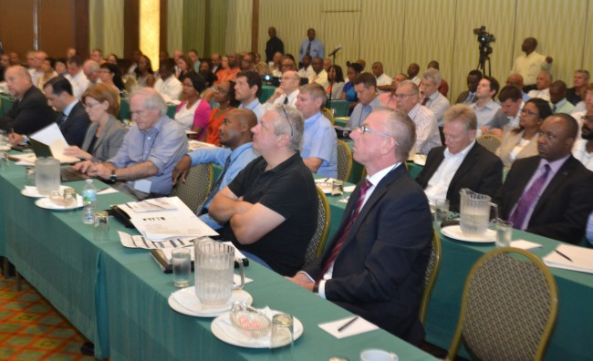 Some of the attendees of the conference.